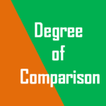 Degree of Comparison Exercise with Answers, simplifyconcept.com