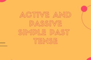 active and passive present perfect tense (1)