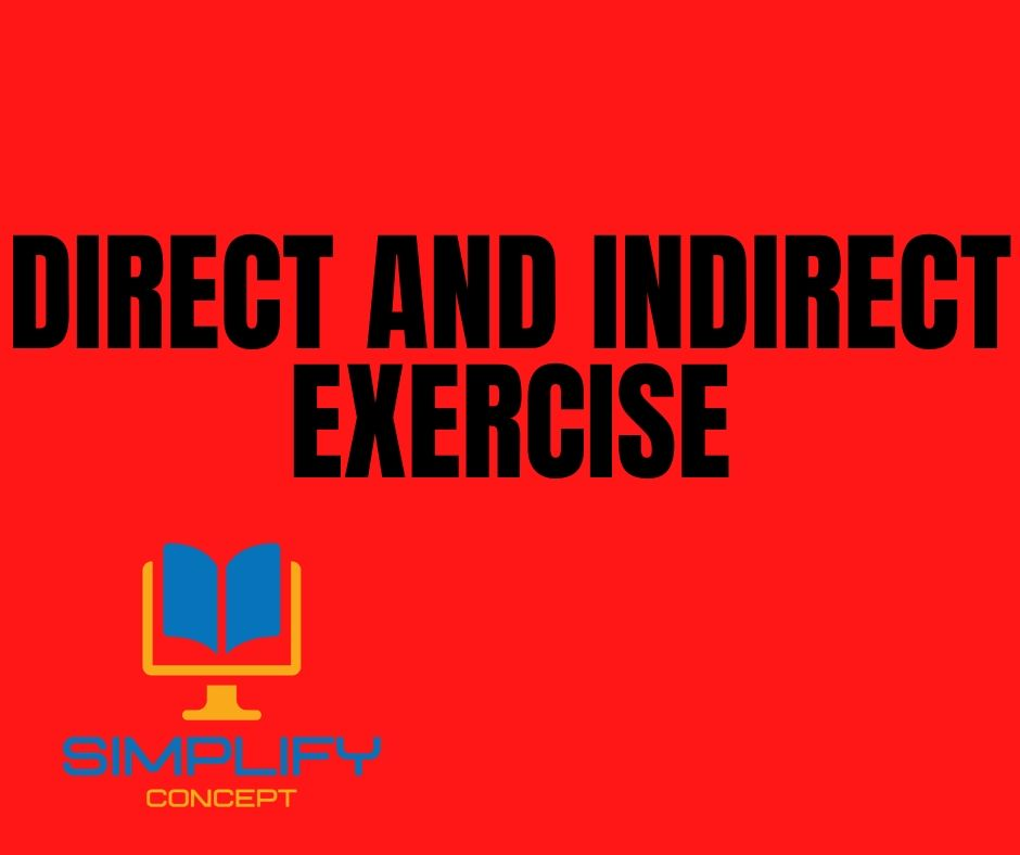 Direct and Indirect Speech Exercises for Class 6 with Answers, simplifyconcept.com