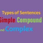 Different Types of Sentences – Simple Compound and Complex Sentences,www.simplifyconcept.com