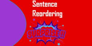 Sentence Reordering Class 8, www.simplifyconcept.com