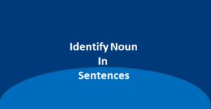 Identify noun in the following sentence, simplifyconcept.com
